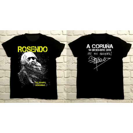 Camiseta Gira 2018 A CORUÑA