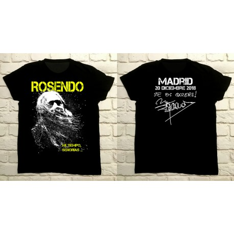 Camiseta Gira 2018 MADRID