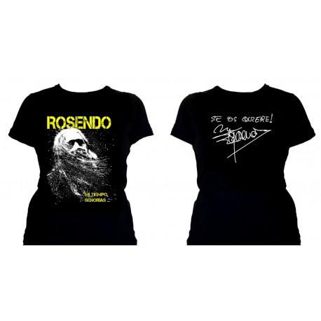 Camiseta chica Rosendo 2017