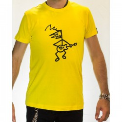 Camiseta hombre modelo Rosendito Amarillo