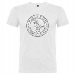Camiseta hombre modelo Maneras de vivir Blanca