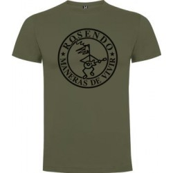 Camiseta hombre modelo Maneras de vivir Verde militar