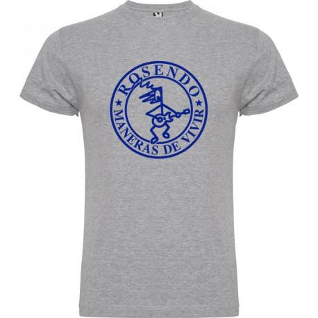 Camiseta hombre modelo Maneras de vivir Gris