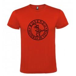 Camiseta hombre modelo Maneras de vivir Roja
