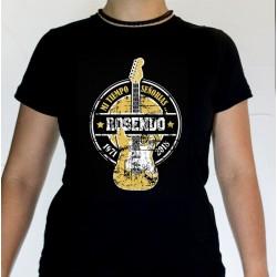 Camiseta chica Rosendo guitarra