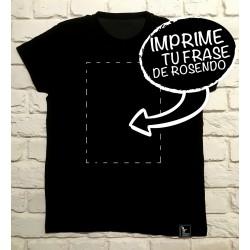 Camiseta presonalizada Rosendo